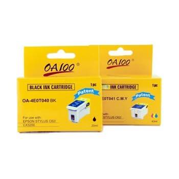 Epson T040 + T041 MultiPack Cartouche d'encre d'origine 1 x noir, couleur (cyan, magenta, jaune)