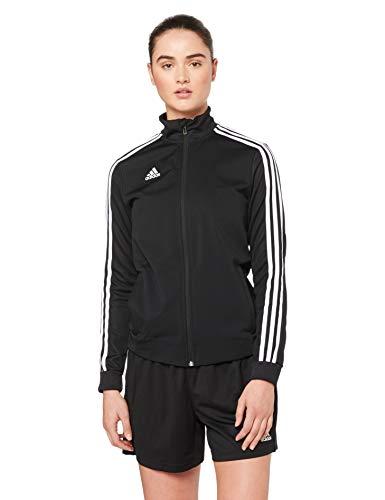 adidas Damen TIRO19 TR JKTW Sport Jacket, Black/White, L