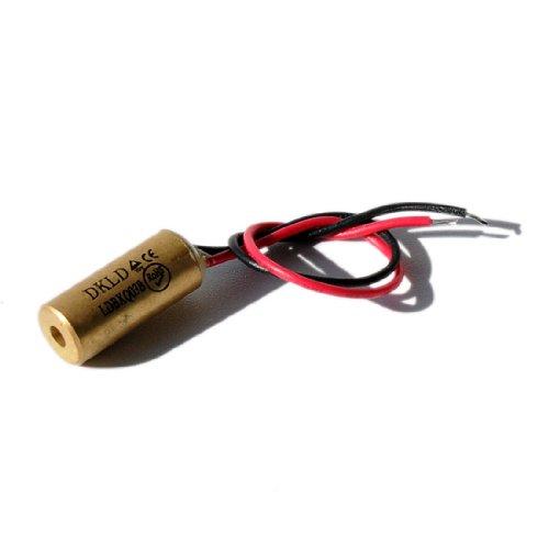 Laser Lasermodul Punktlaser rot 650nm 1mW 3-12VDC - 70103984 1,5 V Dc Aa Pack