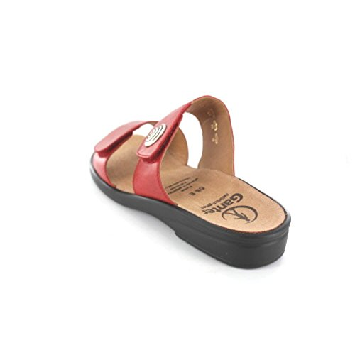Ganter Sonnica, Weite E, Mules femme Rouge - Rot (rosso 4100)