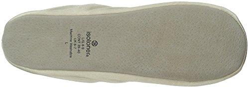 Isotoner  ISOTONER 9877H, Chaussures de danse pour homme One size Crème