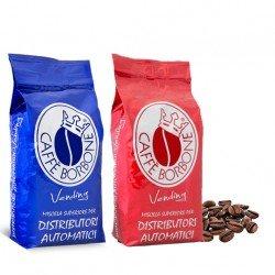 Caffe' in grani 2 kg borbone linea vending miscela qualita' rossa e blu