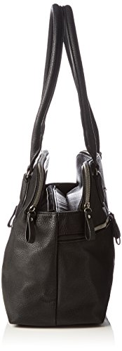 TamarisPINA Business Shopping Bag - Borsa shopper Donna Nero (Black 001)