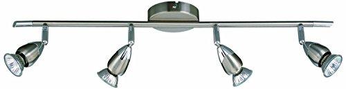 Led Deckenleuchte Lampe Leuchte Deckenlampe Strahler GU 10 Balken 4 flammig