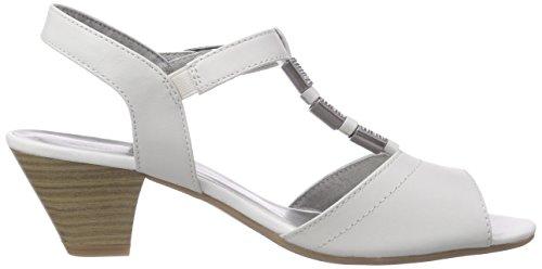 Jana 28301 Damen Sandalen Weiß (WHITE)