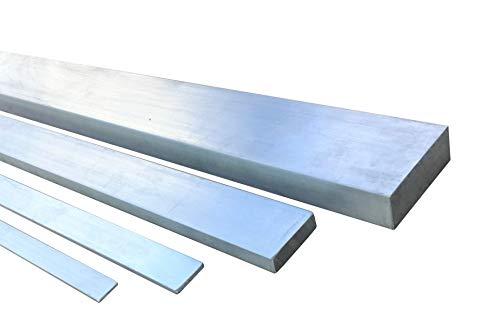 Aluminium Flachprofil AlMgSi0,5 Länge 1500mm (150cm) von 20x3mm bis 200x30mm 25x3