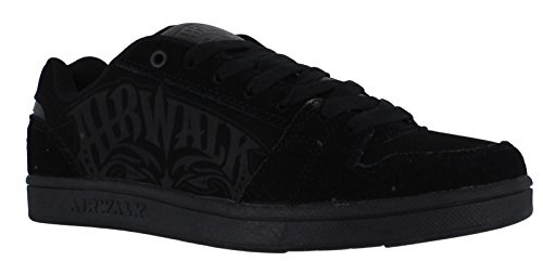 airwalk-boys-junior-casual-skate-lace-up-padded-shoes-trainers-uk-3-triple-x-black-charcoal