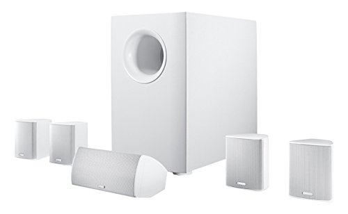 Canton Movie 135 - Sistema de Home Cinema 5.1, Color Blanco