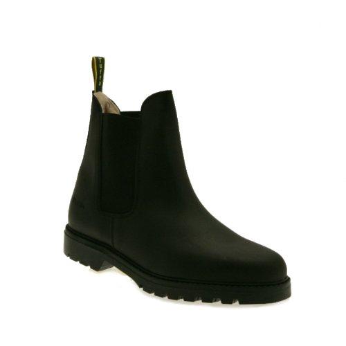 Tuffa Chelsea-Boot Clysdale, Fleece, ideal zur Gartenarbeit schwarz - schwarz