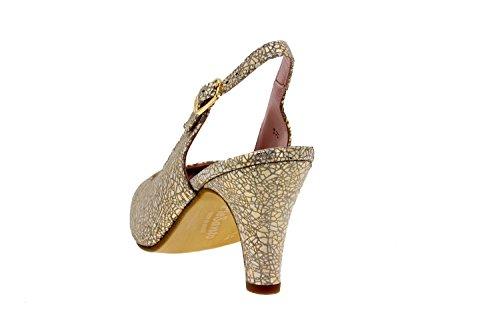Chaussure femme confort en cuir Piesanto 8210 escarpin confortables amples Cris Duna