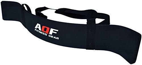AQF - Aislante de bíceps para levantamiento de pesas, entrenamiento d