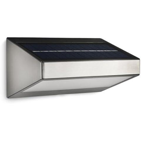 Philips myGarden Greenhouse - Aplique para exterior, sin sensor de movimiento, LED, acero inoxidable