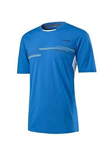 Head CLUB TECHNICAL SHIRT M blue - S - Blau Tennis Shirt