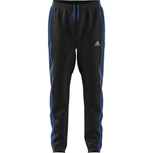 adidas Jungen Football Striker 3 Stripes Hose, Black/Blue, 152
