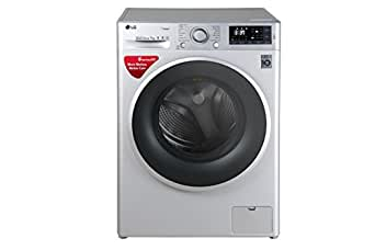 LG 7 kg Fully-Automatic Front Loading Washing Machine (FHT1207SWL.ALSPEIL, Silver)