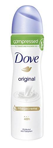 Dove, Deodorante spray Original, 3 pz. (3 x 75 ml)