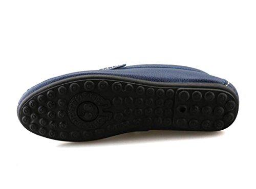 Beauqueen Pattini Uomo Comodità Mocassini Vuotosi Soft Outsoles Slip-on Slip-ons Scarpe casuali UE Size 38-44 Black