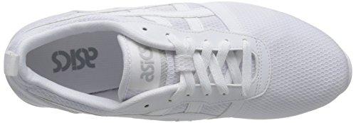 ASICS Uomo Nero/Carbon Lyte Jogger Sneaker Bianco