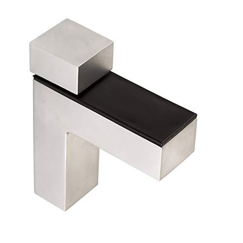 4 piezas x SO-TECH® Soporte para Estantería HULK Cromo mate para Estantería...