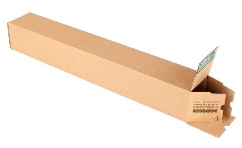 progressPACK Universalversandhülse Premium PP LB10.05 aus Wellpappe, DIN A1+, 715 x 105 x 105 mm, 10-er Pack, braun