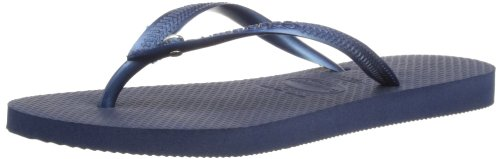 Havaianas Slim Crystal Glamour Sw Infradito, Donna Blu (Navy Blue 0555)