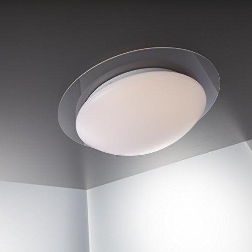 led deckenleuchte dimmbar 16 farben inkl led platine 230v ip44 led badlampe inkl ir. Black Bedroom Furniture Sets. Home Design Ideas