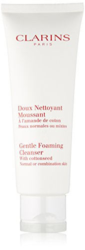 Clarins Gentle Foaming Cleanser With Cottonseed (Normal / Combination Skin - ...