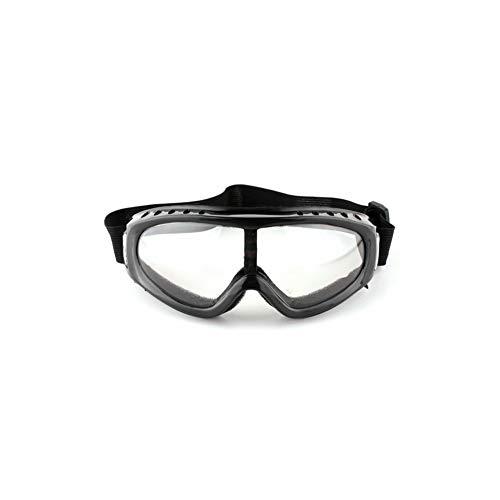 HAOYU Outdoor-Reitbrille Motorrad Windschutzscheibe Anti-Shock-Brille Anti-UV-Brille Winter Outdoor-Skibrille für Erwachsene Männer, Frauen,D