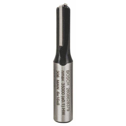Bosch Professional 2 608 628 379  Zubehör Nutfräser 8 x 6 x 48 mm