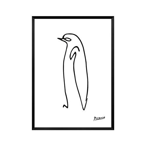 Bilder Auf Leinwand Bild Druck Auf Leinwand Minimalistischen Pablo Picasso Abstrakte Baumschule Leinwand Malerei Tierische Kunst Öl Poster An Der Wand Bild Für Wohnzimmer Home Decor Ungerahmt, 40