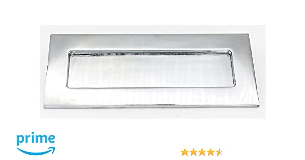 ZW Hardware ZW-MB001 10 Inch /× 4 Inch Bright Chrome Plating Door Mail Slot