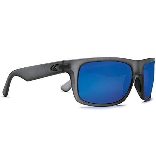 Kaenon Sonnenbrille Burnet Mid, Blau (Carbon Matte Grip), Einheitsgröße