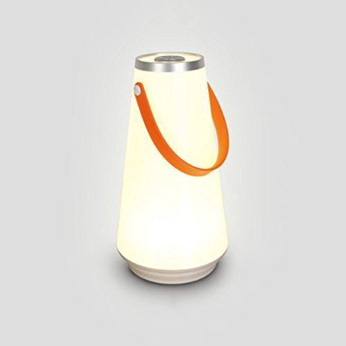 QRFDIAN USB, das tragbares Nachtlicht der LED-Nachtlichtatmosphären-Tischlampe im Freien kampierendes Zelt des Campingzeltes auflädt Fotoelektrische Sensoren