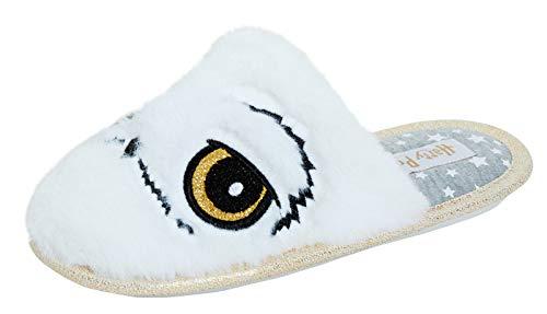 Harry Potter Zapatillas Hedwig The Owl Novedad para niñas Hogworts Mule House 12