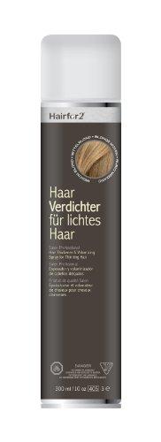 Vorratsangebot! 5 x Hairfor2 Haarverdichtungsspray 300ml (mittelblond)