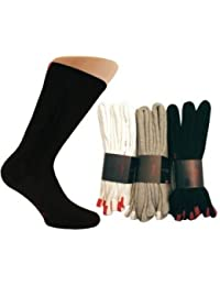 Chaussettes trainer sport de tennis Homme Femme (lot de 3 paires) 80% Coton. Blanc, gris ou noir.