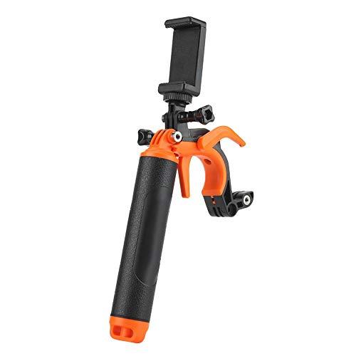 VBESTLIFE TELESIN Kit de Bras de Fixation de Caméra d'action, Perche Télescopique à Poignée Flottante avec Déclencheur Compatible pour Caméra GoPro Hero 4 5 6 7