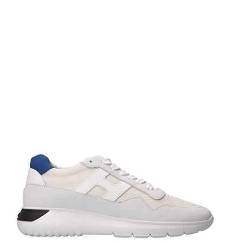 Hogan Sneakers Uomo Hxm3710aj10igk422d Pelle Bianco