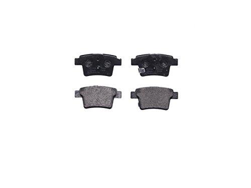 Preisvergleich Produktbild Brembo P66002 Hintere Bremsbeläge,  Anzahl 4