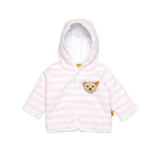 Steiff Unisex - Baby Jacke 0002857 Babyjäckchen 1/1 Arm, Gr. 56, Rosa (Barely Pink 2560)