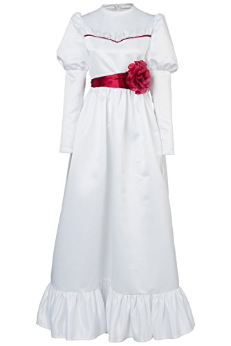 Annabelle Kinder Kostüm - Annabelle :Annabelle Kleid Cosplay Kostüm für Halloween Party Damen S