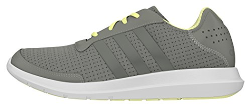 adidas Damen Element Refresh Trainingsschuhe, Grau (ch Solid Grey/ch Solid Grey/ice Yellow), 38 2/3 EU