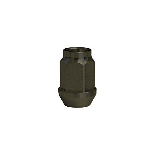 EvoCorse Écrou de roue ouvert in Ergal M14x1.5, Clé 19, Longueur 34 mm, Anodisé dur, 4 pcs