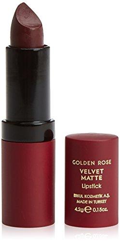 Golden Rose - Rouge à Lèvres mat « VELVET MATTE » -n° 23