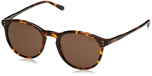 Polo Ralph Lauren Herren 0Ph4110 513473 50 Sonnenbrille, Braun (Shinyntique Havana/Brown),