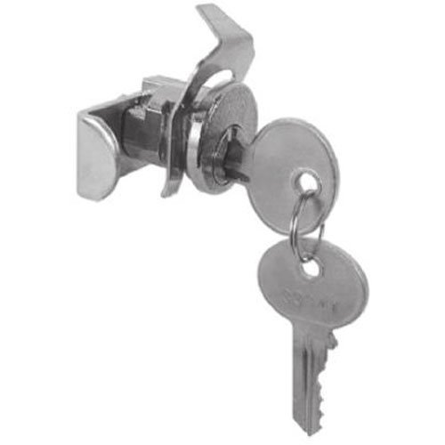 PRIME LINE PRODUCTS - Mailbox Replacement Lock For Jensen General With 2 Keys, Nickel Finish