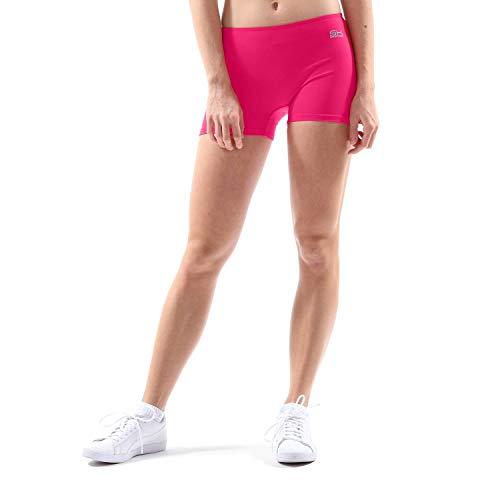 Sportkind Mädchen & Damen Tennis, Volleyball, Sport Shorts, pink, Gr. 152