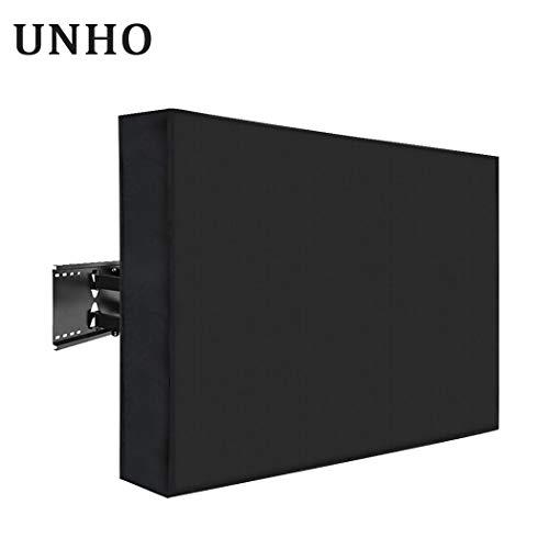 UNHO Funda para TV Pantalla LED LCD de 36-38 Pulgadas Exterior Protector para Televisor Cubierta de TV Universal y Resistente al Agua con...