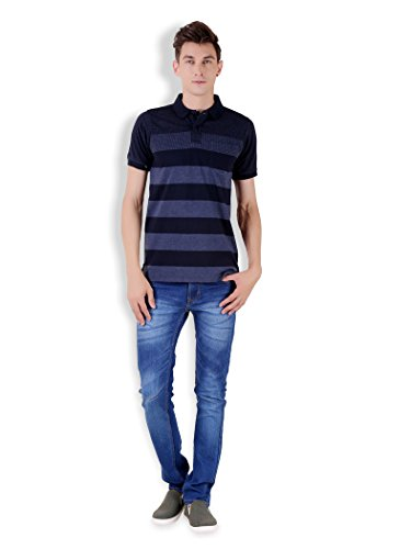 Tapasya Navy Polo T-Shirt