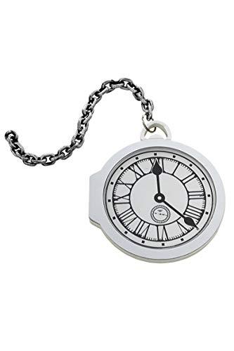 Smiffys Übergroße Taschenuhr, One Size, Weiß, 48234
